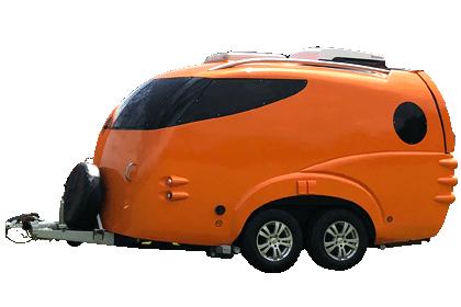 Anywhere - twin axle model